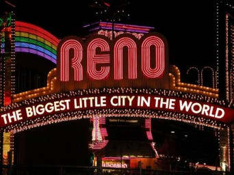 Reno, Nevada neon lights