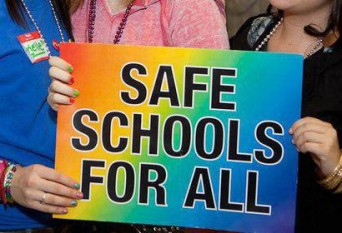 Safe schools for all sign