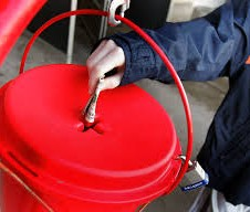 salvation army donation kettle
