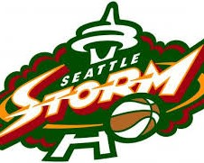 The Seattle Storm basketball