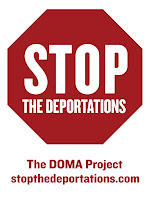 Stop the deporations sign