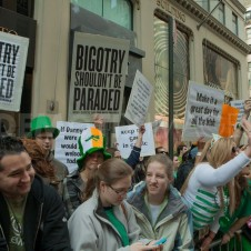 St. Patrick's protesters