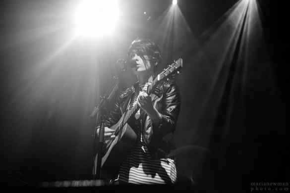 A photo from Tegan and Sara's benefit concert for the HRC at the Paramount in Huntington, NY, July 25, 2013. (Photo: MariaNewman.Tumblr.com)