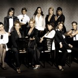 "Spot the exes. (Cast of ""The L Word"")"