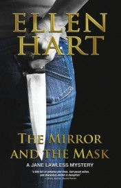 Ellen Hart, the mirror and the mask book cover