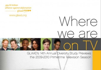 GLAAD Where We Are on TV report cover
