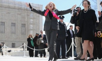 Edie Windsor at DOMA hearing