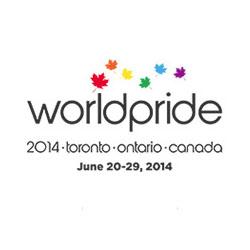 WorldPride Toronto 2014 logo