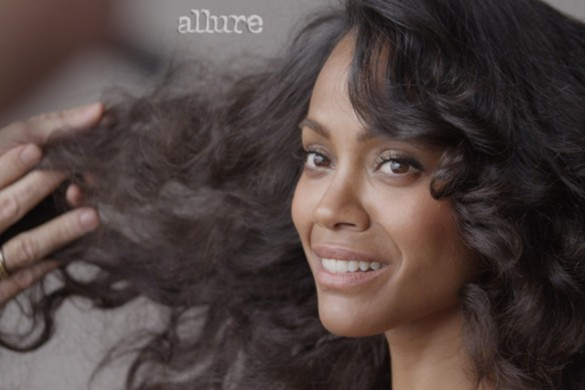 Zoe Saldana (Photo: Allure)