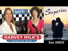 Zoe Amos talks adventure-romance 'Superior'