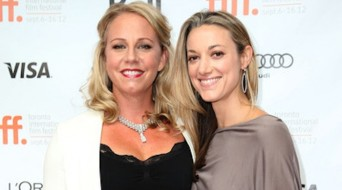 Alex Lalond and Zoie Palmer