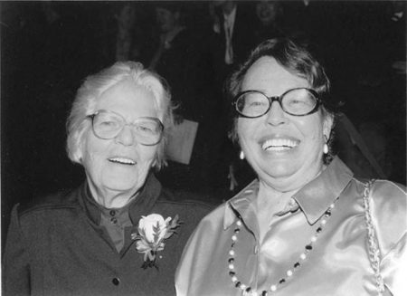 Del Martin and Phyllis Lyon
